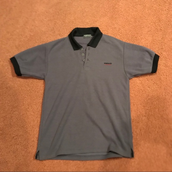 22d77e06 Versace Shirts | Vintage Jeans Polo Shirt | Poshmark